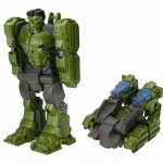 Marvel Avengers Flip Attack Transformers Hulk to Tank