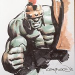 Cary Nord Planet Hulk Heroes Con Commission