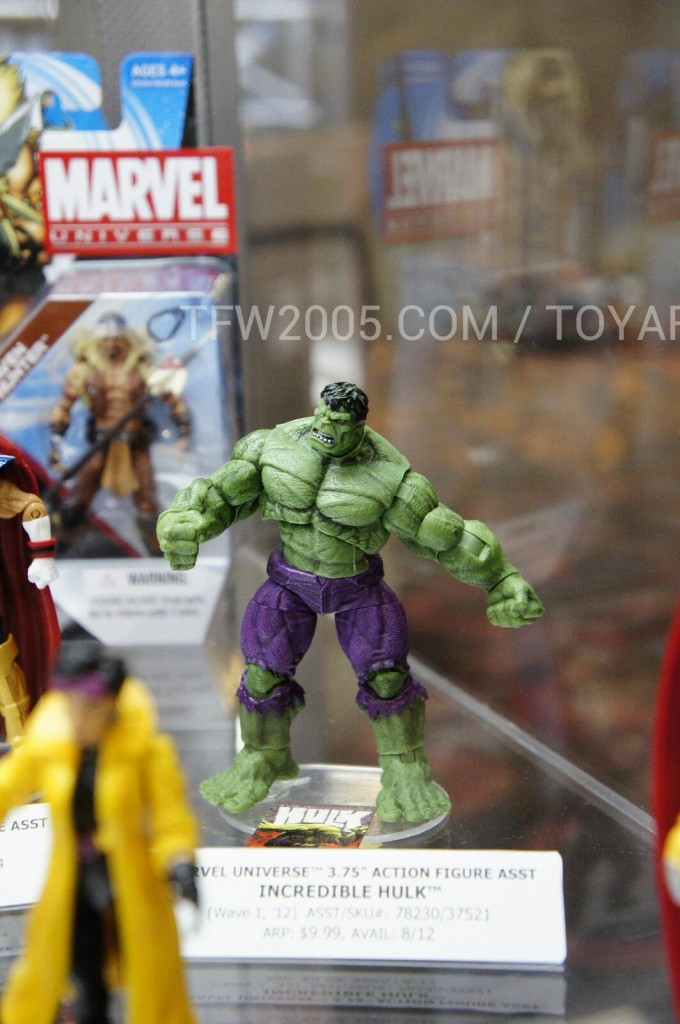 Marvel Universe Incredible Hulk SDCC