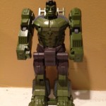 Flip & Attack Smasher Tank Hulk Action Figure