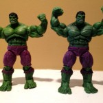 Marvel Universe Incredible Hulk 2 Pack Hulk and Wal-Mart exclusive Hulk