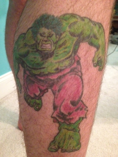 my incredible hulk tattoos the incredible hulk engine of destruction. Black Bedroom Furniture Sets. Home Design Ideas