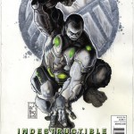 Indestructible Hulk 3 Cover variant