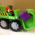Incredible Hulk Smash Mobile Marvel Super Hero Adventures Vehicle
