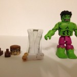 Incredible Hulk and Bruce Banner Minimates Figure