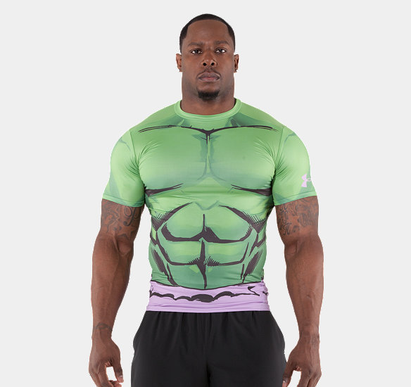 V5 1246520 301 htf the incredible hulk engine of for Hulk under armour compression shirt