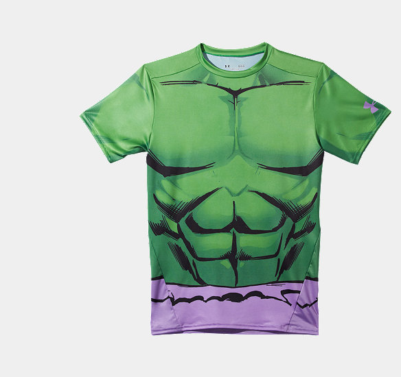 V5 1246520 301 ldf the incredible hulk engine of for Hulk under armour compression shirt
