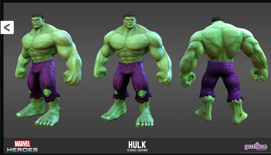 Hulk Classic Skin | The Incredible Hulk: Engine of Destruction