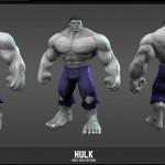 Grey Hulk Skin