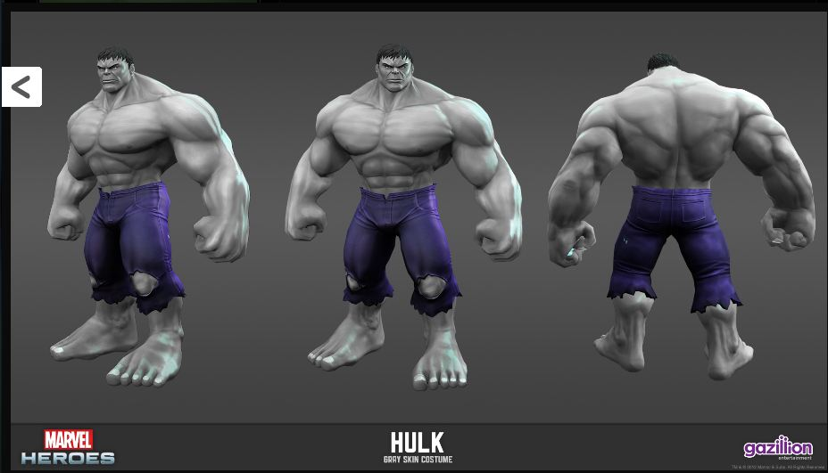 grey hulk games