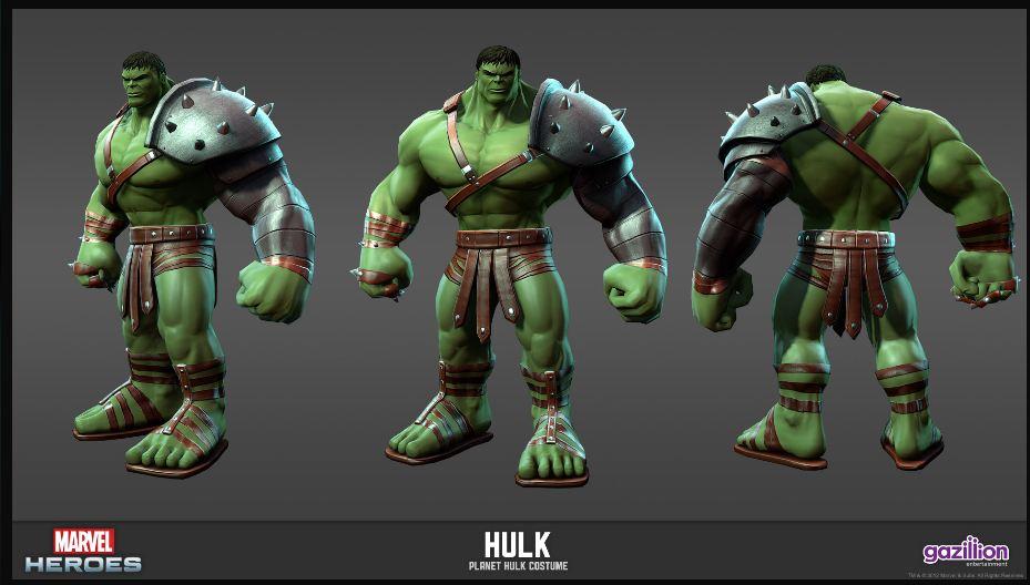 Planet Hulk Skin | The Incredible Hulk: Engine of Destruction
