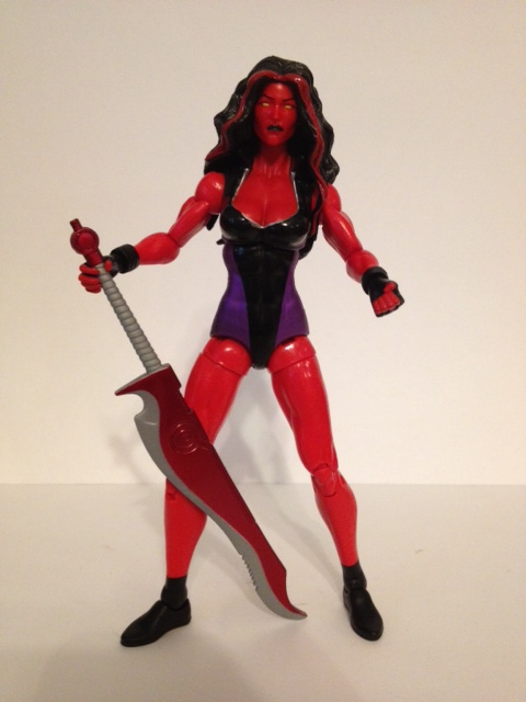 Marvel Legends Red She Hulk Action Figure The Incredible