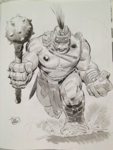 Planet Hulk Lee Weeks