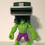 Playskool Heroes Hulk Disc Launcher Target