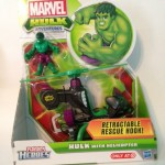 Hulk with Helicopter figure Target exclusive