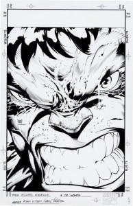 Wizard 70 Incredible Hulk Cover Adam Kubert