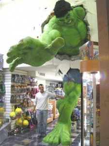 hulk_coming_from_the_wall_inside_toy_comic_book_shop__2013-06-12
