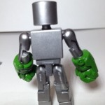 Minimates Incredible Hulk Robot with Gremlin