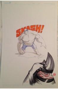 Creaturebox Hulk jam page