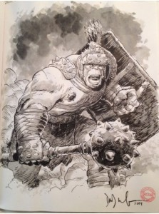 Dave Wachter Planet Hulk sketch