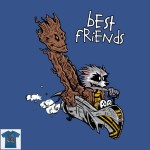 Rocket and Groot tshirt