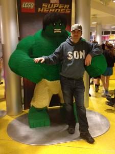 big lego hulk